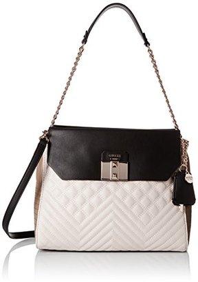 GUESS Rebel Roma Shoulder Bag $118 thestylecure.com