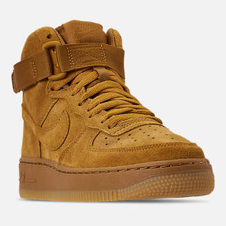Nike Boys' Big Kids' Force 1 High LV8 Casual Shoes