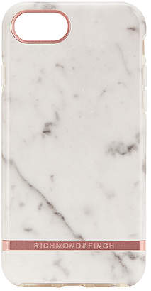 Richmond & Finch White Marble & Rose iPhone 6/7/8 Case