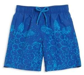 Vilebrequin Baby Boy's& Little Boy's Bubble Turtle Swim Trunks - Blue - Size 4