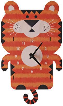 Modern Moose Tiger Pendulum Wall Clock