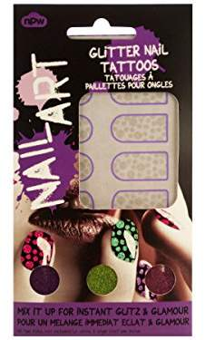 Equipment bulk buys GW085 Dots Nail Art Glitter Tattoos Kit