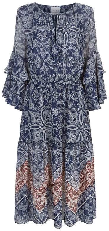 Misa Los Angeles Coco Floral Midi Dress
