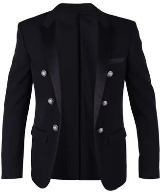 Balmain Black Tuxedo Jacket