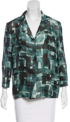 Marni Silk & Linen-Blend Blazer