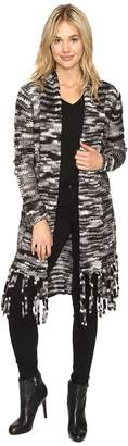 Kensie Chunky Space Dye Cardigan KSNK5524 Women's Sweater