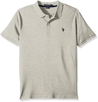 U.S. Polo Assn. Men's Classic Fit Solid Short Sleeve Interlock Shirt