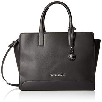 Armani Jeans Printed Eco Leather Tote