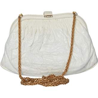 Chanel White Exotic leathers Handbags