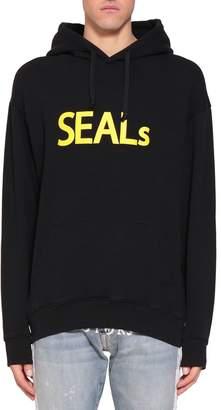 Ih Nom Uh Nit Seals Cotton Hoodie