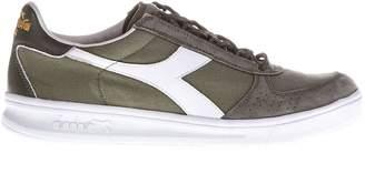 Diadora Heritage B.elite Suede & Techno Fabric Sneakers