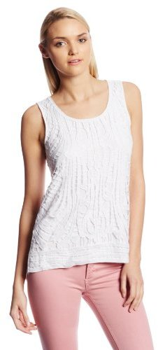 Design History Women's Chunky Lace Tank Top