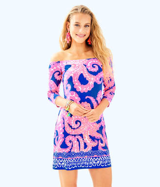 Lilly Pulitzer Womens Laurana Off The Shoulder Dress