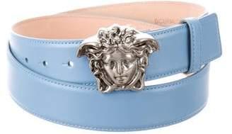 Versace Medusa Leather Waist Belt w/ Tags