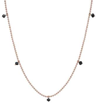 Black Diamond kismet by milka Pendant Necklace