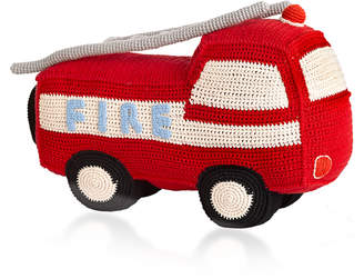 Anne Claire Big Fire Engine Crochet Toy
