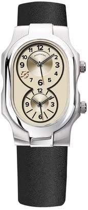 Philip Stein Teslar Men's Signature Dual Time Zone Watch, 42mm