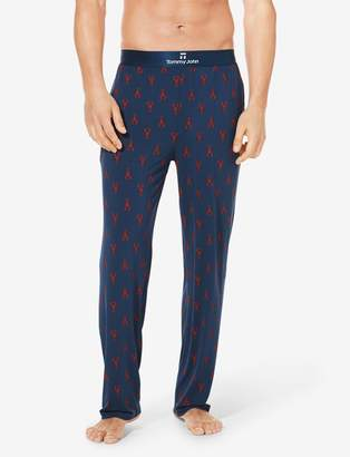 Tommy John Tommyjohn Second Skin Lobster Print Lounge Pant