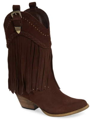 Very Volatile Anderson Fringe Western Boot
