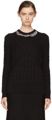 Erdem Black Elsie Sweater