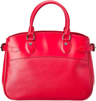 Louis Vuitton Red Epi Leather Passy Pm