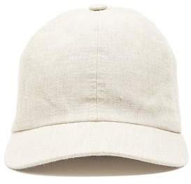 Co Lock and Hatters Lock and Rimini Baseball Cap In Ivory Linen
