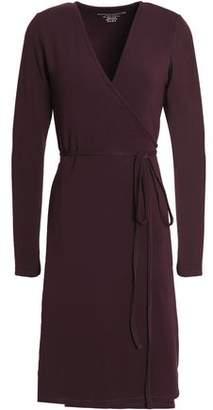 Majestic Filatures Wrap-Effect Stretch-Jersey Dress