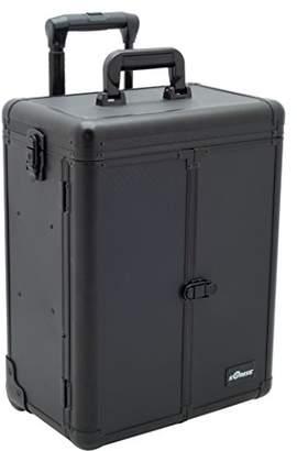 Sunrise La Latte Heavy Duty Rolling Makeup Case Professional Nail Travel Organizer Box