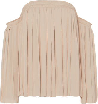 Elizabeth and James Emelyn Off-The-Shoulder Top $295 thestylecure.com