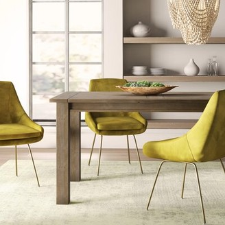 Mistana Gaia Driftwood Solid Wood Dining Table Mistana