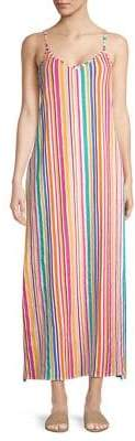 Republic Rainbow Stripe Maxi Dress
