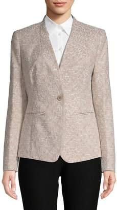 Lafayette 148 New York Women's Clary One-Button Jacket