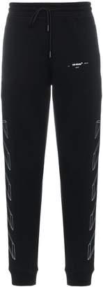 Off-White Black 3D print sweatpants