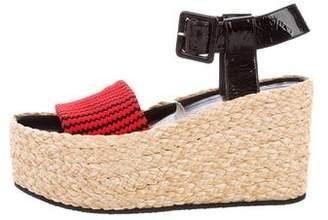 Celine Knit Platform Sandals