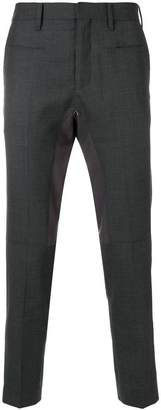 John Undercover panelled slim-fit trousers