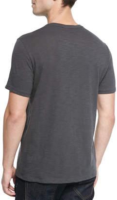 Vince Basic Slub V-Neck T-Shirt