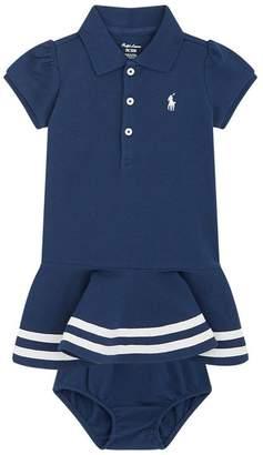 Polo Ralph Lauren Shirt Dress and Bloomers Set