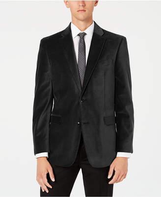 Tommy Hilfiger Men Modern-Fit Th Flex Stretch Solid Velvet Sport Coat