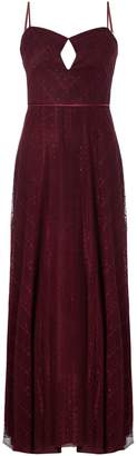 Jill Stuart sweetheart neck bardot midi dress