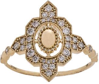 Stone Paris Ring in Yellow Gold | FWRD
