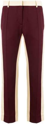 Valentino panelled pencil trousers