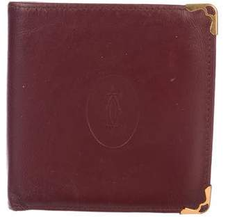 Cartier Vintage Leather Bifold Wallet