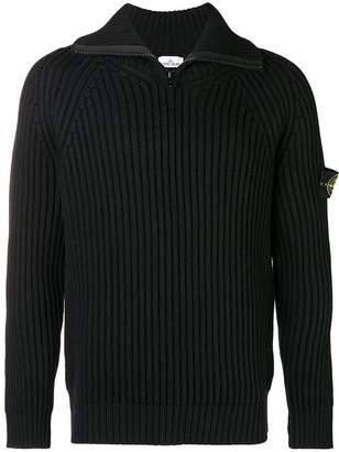 Stone Island standing collar sweater