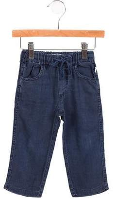 Il Gufo Girls' Linen Pants