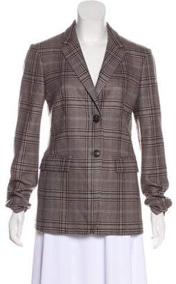 Loro Piana Cashmere Plaid Blazer