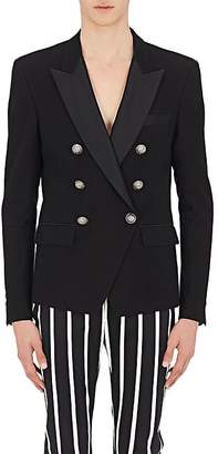 Balmain Men's Cotton Double-Breasted Sportcoat