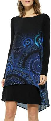 Desigual Carlin Blue Dress