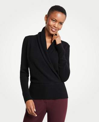 Ann Taylor Cashmere Wrap Sweater