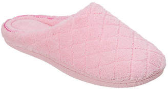Dearfoams Quilted Terry Clog Slippers