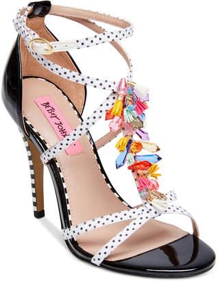 Betsey Johnson Clarice Dress Sandals Women's Shoes